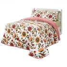 Reversible Sunflower Quilt Set With 2 Pillow Shams, 3 Pc. image