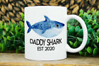 Daddy Shark Mug First Fathers Day Personalized Gift For Dad For Fathers Day Gift