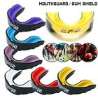 Kyпить Gel Gum Shield Mouth Guard Boxing MMA Sport Rugby Boxing Case Teeth Protection на еВаy.соm