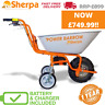More images of Sherpa Power Barrow Electric 24V Powered Tipping Wheelbarrow 1 Year Warranty