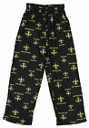 OuterStuff NFL Boys Youth New Orleans Saints All-Over Printed Pajama Pants,Black $9.99 USD on eBay