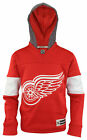 Reebok NHL Boys Youth Detroit Red Wings Face Off Jersey Hoodie, Red $22.5 USD on eBay