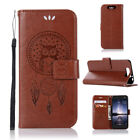 Owl Wallet Leather Flip Stand Case Cover For ZTE Z981 Z982 AXON7 Avid 4 V8 N9132