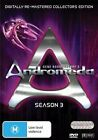 ANDROMEDA - SEASON 3 - REMASTERED EDITION (6 DVD SET) BRAND NEW!!! SEALED!!!