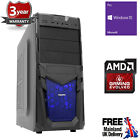 Ochw Ultra Fast Amd Quad Core Hd 8gb 1tb + 960ssd Home Gaming Pc Computer Venom