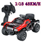 RC Remote Control Car 1:18 48KM/H 2.4GHz Electric Monster Truck Off Road Vehicle