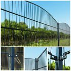 Home Deluxe Double Rod Matt Fence Fence Industrial Fence Grid Fence