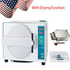 18L Dental Autoclave Steam Sterilizer Lab W/ Drying Function /Surgical Handpiece
