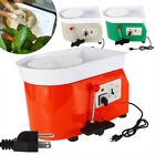 25CM 350W Electric Pottery Wheel Machine For Ceramic Work Clay Art Craft Molding image
