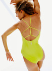 NEW Free People Movement Dance All Day Bodysuit Yoga in Yellow XS/S  M/L 56.56