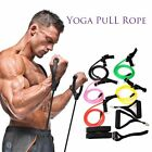 Elastic Durable Yoga Pull Rope Rubber Resistant Stretching Bands Muscle Exercise image