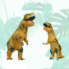 Party Inflatable Dinosaur T-REX Adult Costume Jurassic Funny Cosplay Blowup Suit