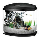 Aqueon MiniBow LED Desktop Fish Aquarium Kit in Black