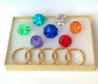 7 Chaos Emeralds & 5 Power Rings - SONIC - IN A GIFT BOX For Sale