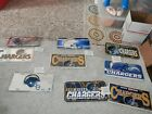 San Diego Chargers Memorabilia Lot License plate new vtg Los Angeles Chargers $12.5 USD on eBay