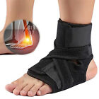 Ankle Support Compression Plantar Fasciitis Sleeve Sport Foot Arch Strap Brace L