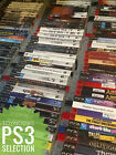 PS3 Game Selection Playstation 3