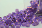 Miyuki Round Rocailles 8/0 Silver Lined Lavender Seed Beads RR-574