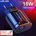 USLION Quick Charge QC 3.0 USB US EU Charger Universal Mobile Phone Charger fast