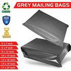 Strong Grey Poly Postal Postage Mailing Bags Post Mail Self Seal All Sizes Cheap