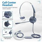 Headset Over Ear Wired USB Headphones with Microphone For Computer PC Phone Call