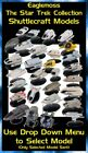 Eaglemoss Star Trek Starships Collection: Shuttlecraft Models - Brand New on eBay