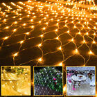Led Mesh Net String Fairy Lights Christmas Decoration Home Party Garden Outdoor