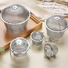 Stainless Steel Herbal Tea Ball Spice Strainer Mesh Infuser Filter Bag 5 Sizes $9.49 USD on eBay