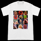 The Many Hairstyles Of The Worm Dennis Rodman Chicago Bulls T-Shirt on eBay