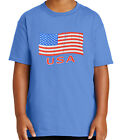 Kyпить USA Flag Kid's T-shirt Distress American Cool Tee for Youth - 1062C на еВаy.соm