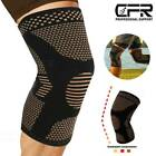 Copper Knee Sleeve Compression Brace Support CFR Sport Joint Pain Arthritis Wrap $9.99 USD on eBay