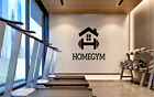 Fitness Home Gym Weights Sign New Room Wall Sticker Decal Art Bedroom Vinyl V680