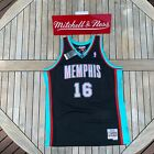 Mitchell & Ness Pau Gasol Swingman Jersey Memphis Grizzlies 2001 Black on eBay