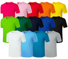 Mens Stylish Daily 14 Colors Cotton Round Crewneck Casual T-Shirts W701 XS-2XL