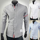 Mens New Fashion Luxury Long Sleeve Business Casual Dress Shirts Formal Top W859