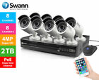 Swann NVR 7400 4 8 16 Channel 4MP CCTV DVR Recorder 2TB HDMI NHD-818 Cameras New