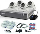 Swann DVR 4575 4 Channel HD Digital Video Recorder 2TB Pro-T854 Dome Camera CCTV