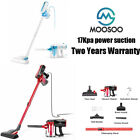 MOOSOO Vacuum Cleaner Corded 17KPa Handheld Suction Stick Vacuum 2 in 1 Upright