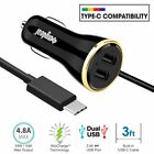For Google Pixel 3 2 XL Fast Travel Phone Adapter Car Charger Type-C Cable