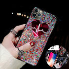 For Iphone 12 11 Pro Max 8 Plus XS XR Bling Glitter Women Cute Phone Case Cover