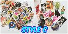 100Pcs Sticker Random Vinyl Laptop Skateboard Bike Luggage Decals Dope Bomb JDM