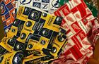 NHL COTTON Fabric 1/4 yard piece, 9 inches X 42 inches ---Choose your team $8.0 USD on eBay