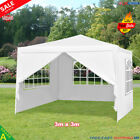 3x3 3x4 3x6 3x9 White Waterproof Outdoor Garden Gazebo Party Tent Marquee Canopy