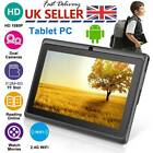 7Inch Kids Child Android 4.4 Tablet PC 8GB Quad Core Dual Camera Wifi HD Tablets