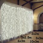 3x1/3x3/6x3m LED Icicle String Lights Christmas Fairy Lights garland Outdoor