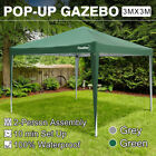 3x3/4x3/6x3/9x3m Pop Up Gazebo Marquee Outdoor Party Tent Waterproof With Canopy