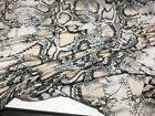 NEW High Class Designer Viscose Jersey Snake Skin Print Fabric