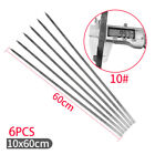 Long Large Stainless Steels Brazilian-Style BBQ Barbecue Skewers Wide Blade Sets