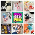 AirPods Cute Animal Food Cartoon Silicone Case Skin Cover for Apple Airpod 1/2