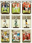 2020 Panini Legacy Football Base Legend Rookies You Choose BURROW TUA HERBERT ++Football Cards - 215